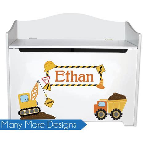 personalized toy box bench personalized toy box for boys kids toybox bench toy storage