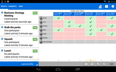 how to use doodle easy scheduling android apps doodle easy scheduling to manage your time
