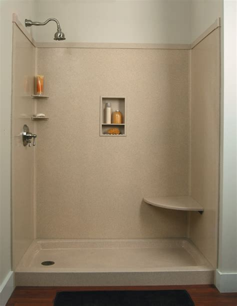 Prefab Shower Walls by Shower Wall Panels Ready To Install Tub Shower Wall Kits