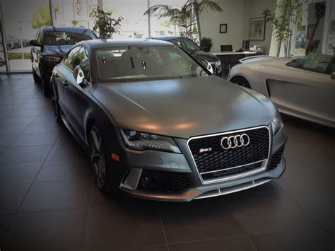 Matte Grey Audi Rs7 by Audi Rs7 Matte Grey Www Imgkid The Image Kid Has It