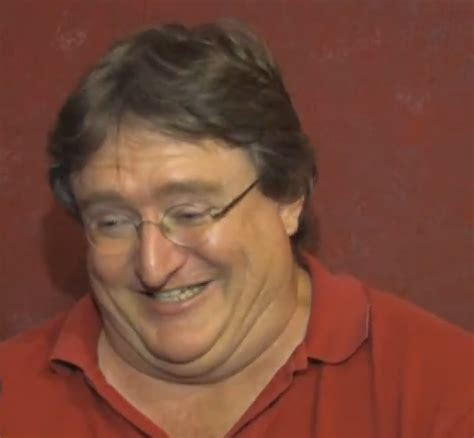 Gabe Newell Memes - grinning gabe gabe newell know your meme
