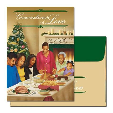 generations of love african american christmas card