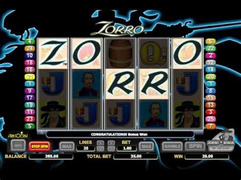 zorro  slots pokies machine play  youtube