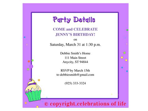 celebration of program template 7 best images of free printable birthday program templates
