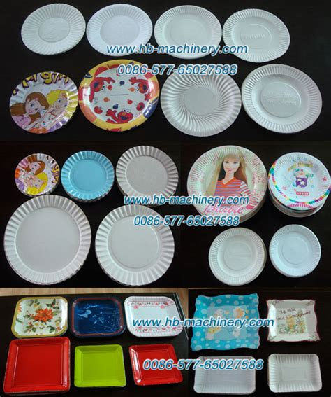 Cost Of Paper Plate Machine - zdj 500 high speed paper plate dish tray machine