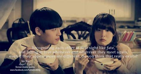 film drama korea angel eyes angel eyes drama quotes pinterest