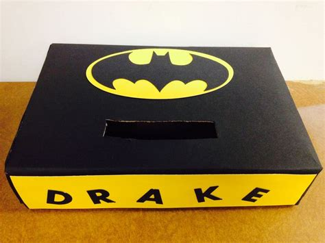 batman valentines day box 16 best images about v day box ideas on