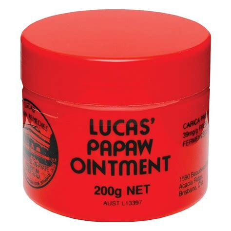 Lucas Pawpaw Ointment buy lucas papaw ointment 200g at chemist warehouse 174