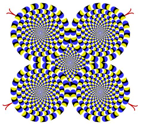 imagenes opticas en movimiento ilusiones 243 pticas psicod 233 licas con movimiento mil recursos