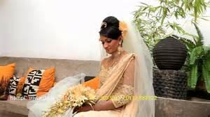 new sri lankan girrls hair styles sri lankan brides by chi siriwardana youtube