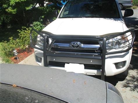 Toyota 4runner Grill Guard Toyota 4runner 2003 2007 Grille Brush Grill Guard Black