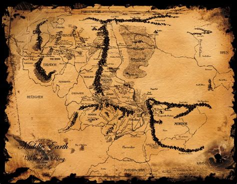 wallpaper middle earth middle earth map wallpapers wallpaper cave