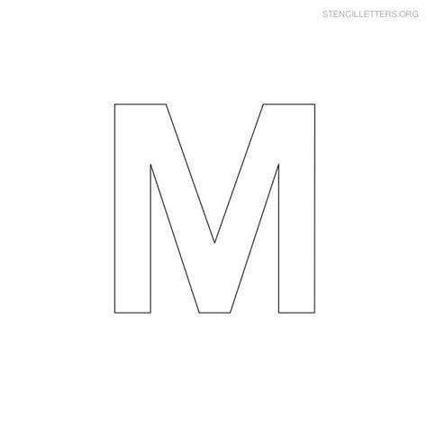printable military letter stencils stencil letters m printable free m stencils stencil