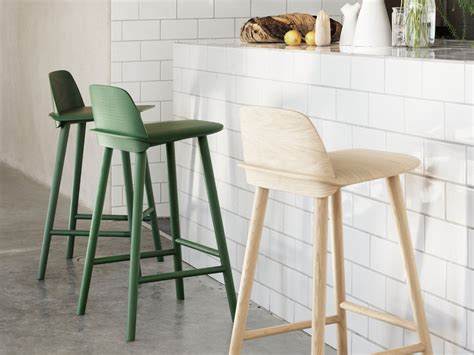 Counter Height Chairs For Kitchen Island Buy The Muuto Nerd Bar Stool At Nest Co Uk