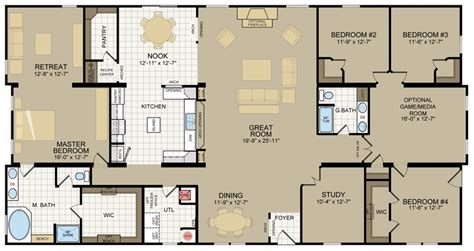 single wide floor plans chion homes single wide floor plans house design ideas