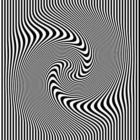 3d illusion l optical illusion black and white stripes op