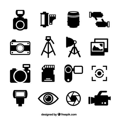 free clipart vector photography icons vector free