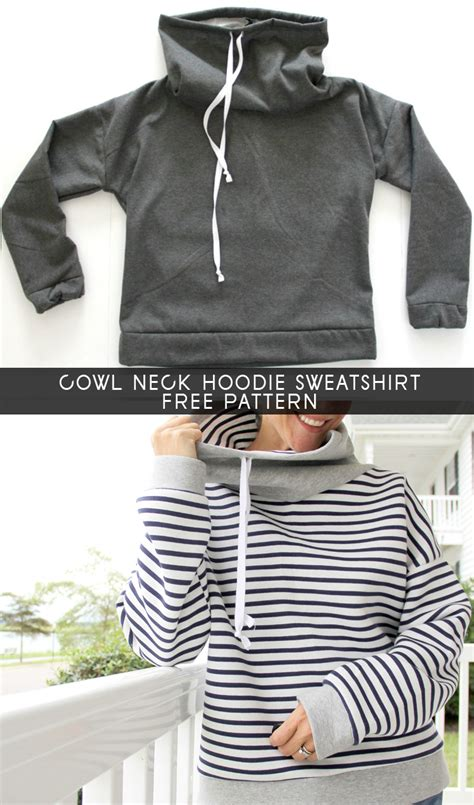 sweatshirt pattern free women s cowl neck sweatshirt free pattern the sewing