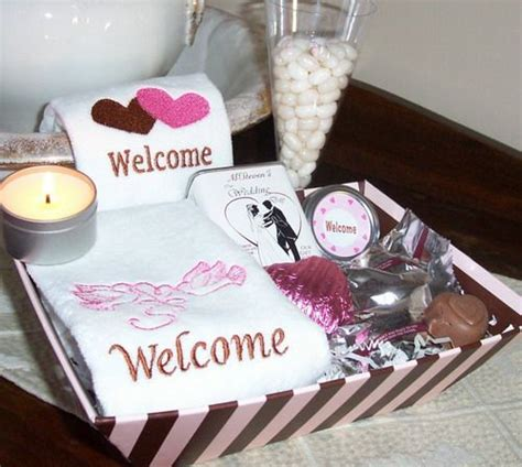 bedroom designs small spare ideas wedding welcome gift 26 best images about welcome gifts and small touches on 713 | 8a0fd72d5e8d99db7713817510421393 wedding guest gifts wedding fun