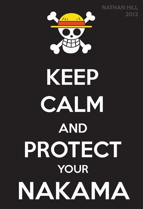 One Piece Keep Calm Monkey D. Luffy   One?piece