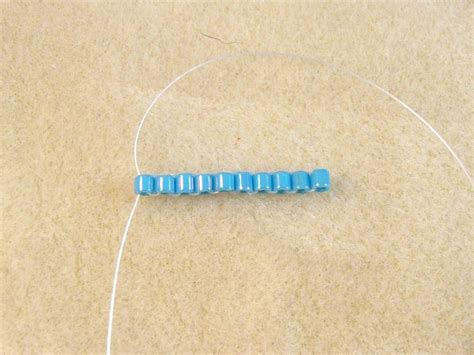 how to do ladder stitch beading flat ndebele or herringbone stitch tutorial with ladder stitch