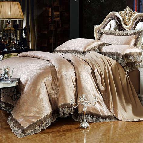 Luxury Bedding Set Bed Sheet Set Tencel Modal Satin Silk