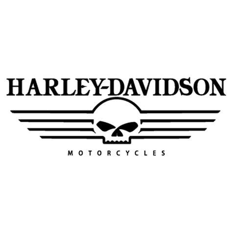 Galerry harley davidson skull logo vector