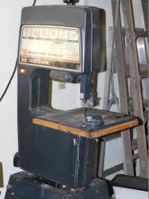 sac valley auctions lot 91 craftsman band saw floor