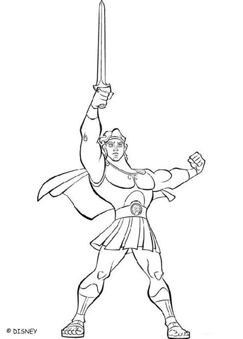 hercules disney coloring pages az coloring pages