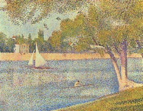 georges seurat most famous paintings the river seine at la grande jatte 1888 georges seurat