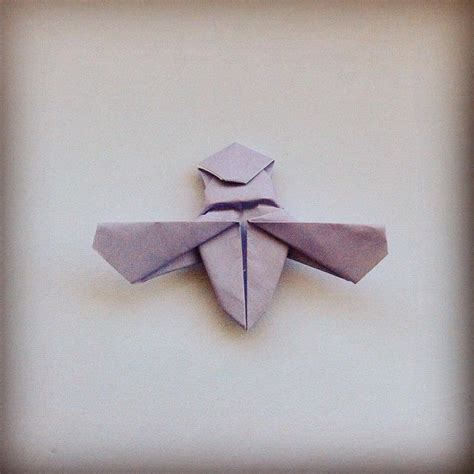 Origami Fly - april 21st 2015 origami fly i made yesterday origami