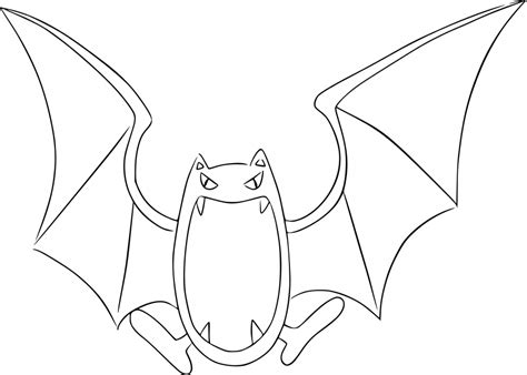 pokemon zubat coloring pages pokemon golbat images pokemon images