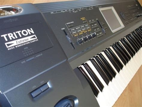 Keyboard Korg All Type korg triton 61 workstation keyboard piano all in