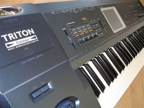 Keyboard Korg All Type Korg Triton 61 Workstation Keyboard Piano All In