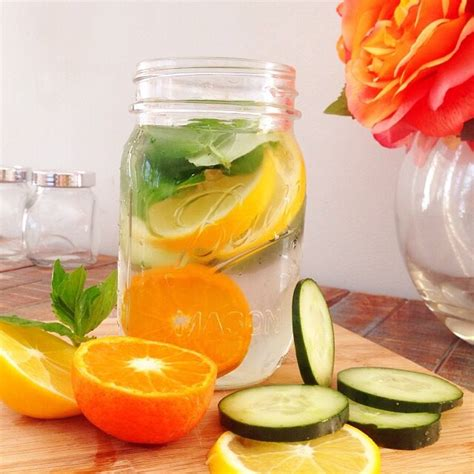 Flu Detox Water by Cleanse Your With These Fruit Detox Waters Trusper