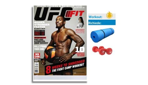 workout italia ufc fit workout workout italia