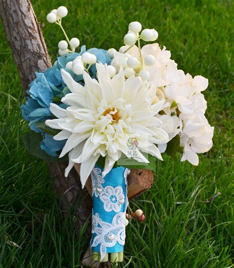 Handmade Artificial Flowers - handmade artificial flower wedding flower bridal bouquet