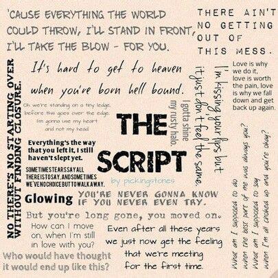 the script song super heroes the script lyric quotes quotesgram