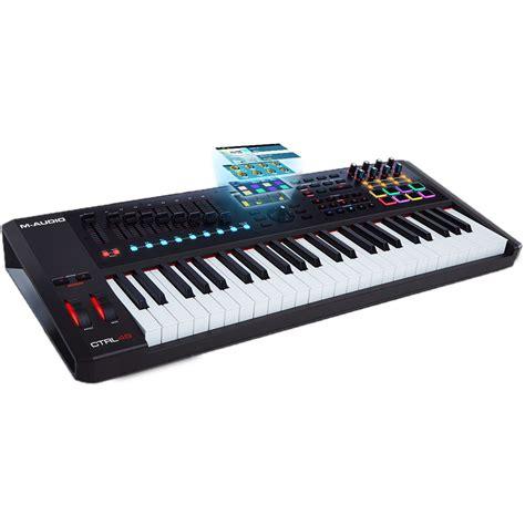Keyboard M Audio m audio ctrl 49 keyboard and midi controller ctrl49 b h photo