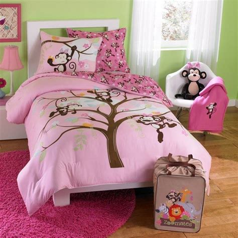 Monkey Set m is for monkey zoomates bedding comforter set bed bath