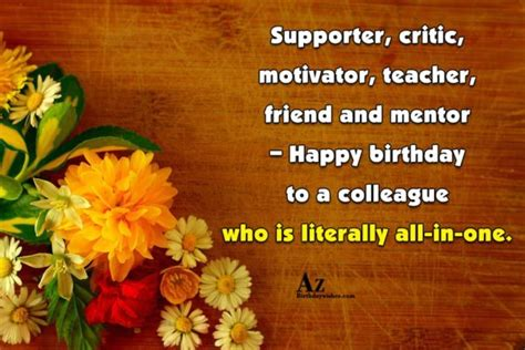 Happy Birthday Wishes To A Mentor Happy Birthday Wishes For Mentor