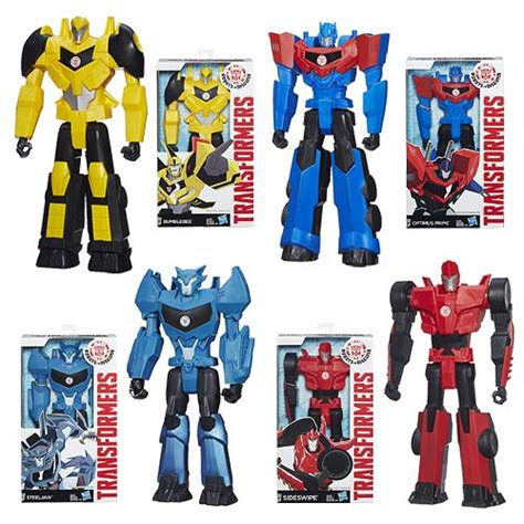 Transfomer All Type Salew transformers robots in disguise titan figure wave 2