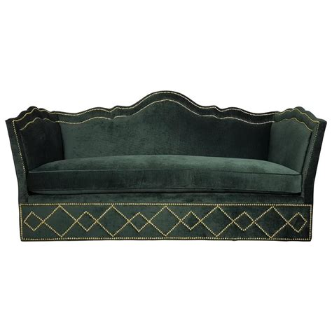 baker leather sofa incredibly luxurious sofa with nailhead detail by baker