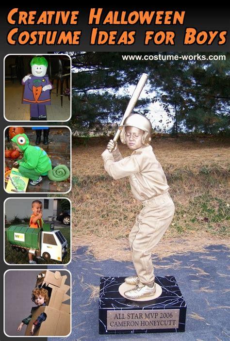 creative halloween costume ideas  boys