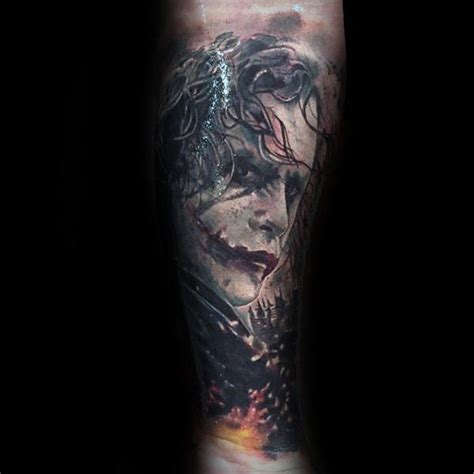 joker tattoos for men 90 joker tattoos for iconic villain design ideas