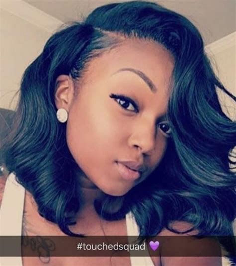pictures of black ombre body wave curls bob hairstyles theyadoremani bobs pinterest bobs short wavy bob
