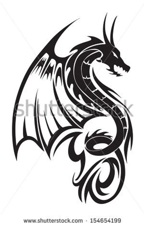 flying dragon sketch clipart panda free clipart images