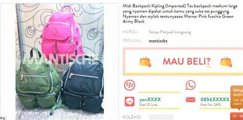 Tas Belanja Praktis Bisa Dilipat Kecil Beragam Pilihan Motif E 46 belanja tas kipling menjadi lebih mudah di shopious