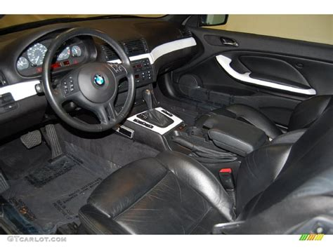 2004 Bmw 325i Interior by Black Interior 2004 Bmw 3 Series 325i Convertible Photo