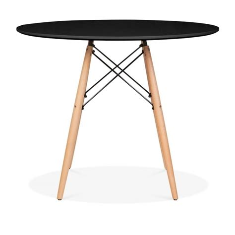 eames style dining table eames style large black dsw table dining table